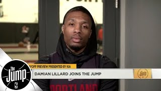 Damian Lillard: 'I should be first-team All-NBA' | The Jump | ESPN