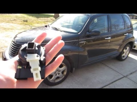 Diy How To Replace Install An Ignition Switch On A Pt Cruiser