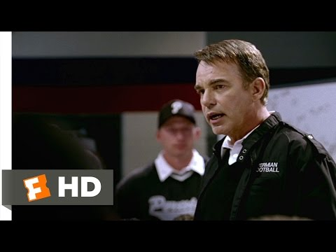 Friday Night Lights (9/10) Movie CLIP – Coach Gaines on Being Perfect (2004) HD