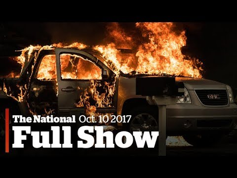 WATCH LIVE: The National for Tuesday October 10, 2017