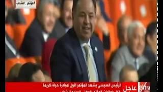 السيسي يمازح وزير المالية: «أنت محقق فائض ومنشفها علينا ومغلبنا» -          بوابة الشروق