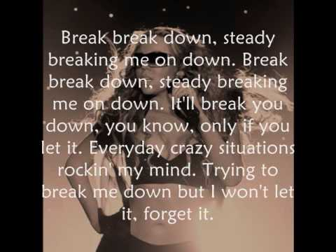 Breakdown Mariah Carey lyrics