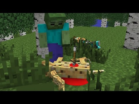 Ocelot Life 2 -  Minecraft Animation