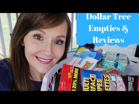 Dollar Tree Empties 💜 Reviews for the month of May 2019