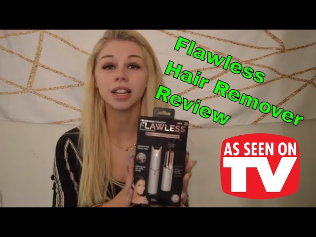 Flawless Facial Hair Remover - Does this thing work?