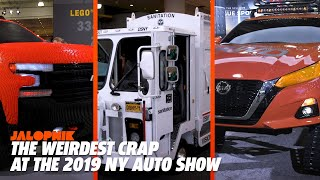 The Weirdest Crap at the 2019 NY Auto Show