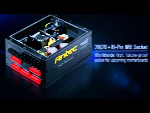 Antec HCP 1000 80+ Platinum Power Supply trailer