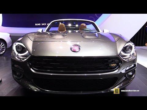 2017 Fiat 124 Spider America Limited Edition - Exterior Interior Walkaround - 2016 Paris Motor Show