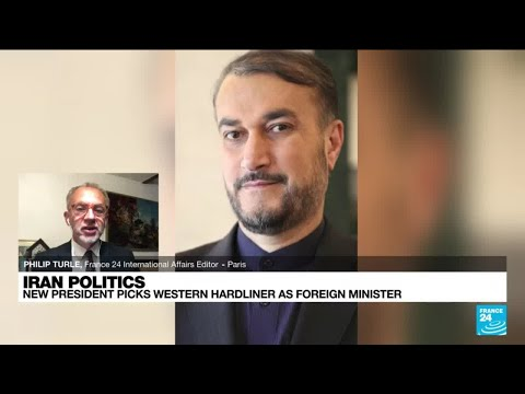 Iran's President Raisi names anti-Western hardliner as new foreign minister • FRANCE 24 English