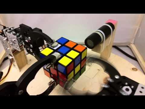 Rubik cube solver on FPGA