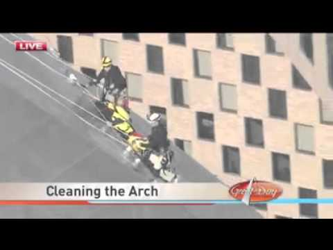 Great Day St Louis, Cleaning The St Louis Arch