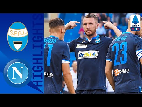 SPAL 1-1 Napoli | Milik's 20-yard Strike Cancelled Out by Kurtic | Serie A