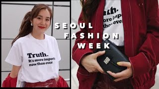 SEOUL VLOG | what actually happens between fashion shows