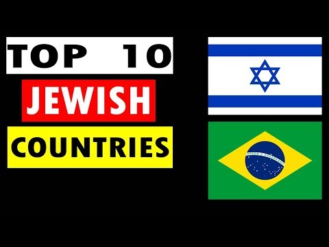 Top 10 Countries With Highest Jewish Population In The World.