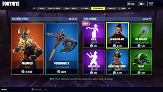 NOUVEAU HULA EMOTE ET MAGNUS SKIN IN FORTNITE ITEM SHOP