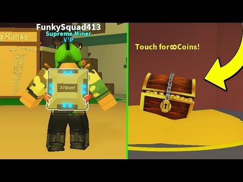Buying The Infinite BackPack! (Infinite Money Glitch!) Mining Simulator | Roblox