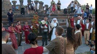Ավանդական հայկական հարսանիք Զվարթնոցի տաճարում