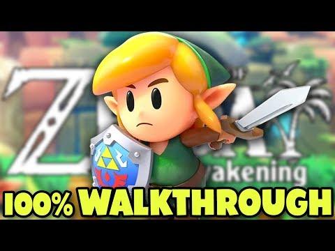Link's Awakening - FULL GAME 100% Walkthrough (Nintendo Switch)