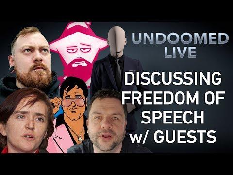Freedom Of Speech, W/ Anne Marie Waters, Count Dankula, 6oodfella, Uzalu, Reverend Simon Sideways