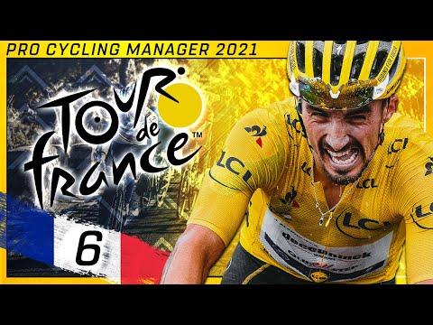 Tour de France 2021 - Stage 6 | Tours - Châteauroux | Pro Cycling Manager 2021 |