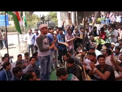 Naukri Muhaal hai | Naukri Bik gai | SSC SCAM SONG | Protest at allahabad ki yaden