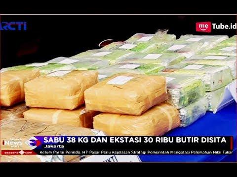 4 Bandar Sabu 38 Kg dan Ekstasi 30 Ribu Butir Disita Polisi - SIM 14/11 Mp3