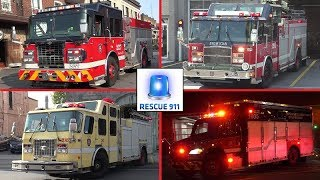 Montreal Fire Services - Part 5 // Service Incendie Montreal (compilation)