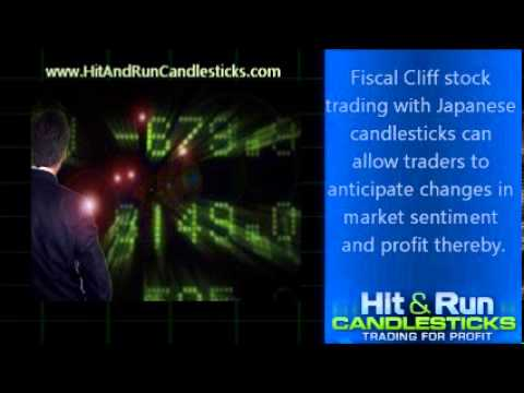 Fiscal Cliff Stock Trading with Japanese Candlesticks