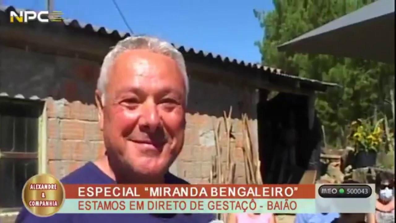 """Download José dos Santos no programa """"Miranda o bengaleiro"""""""