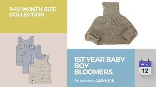 1St Year Baby Boy Bloomers, Diaper Covers & Underwear 9-12 Month Size Collection