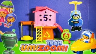 TEAM UMIZOOMI Nickelodeon Ninja Bot, Geo, Milli, and Umicar Team Umizoomi Toy Video