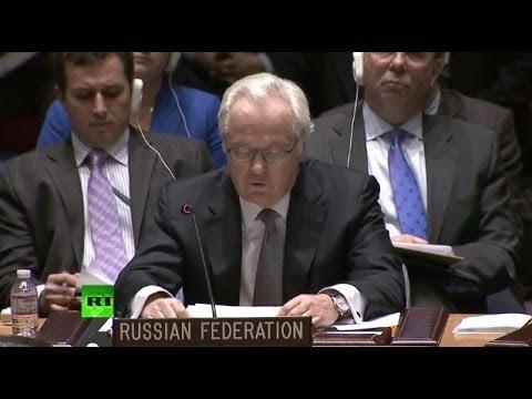 Выступление Виталия Чуркина на Совбезе ООН 4 марта