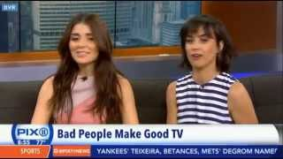 Shiri Appleby and Constance Zimmer- Live On The Pix 11 Morning News July 7, 2015