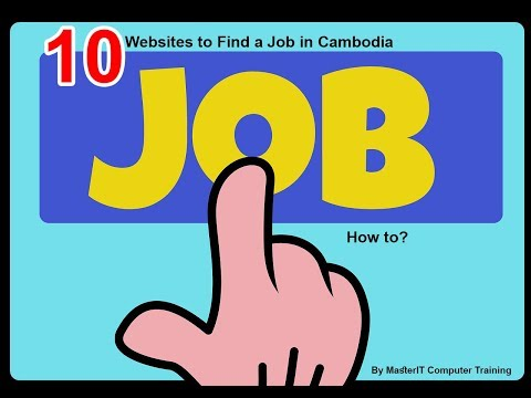 10 Websites to Find Job in Cambodia