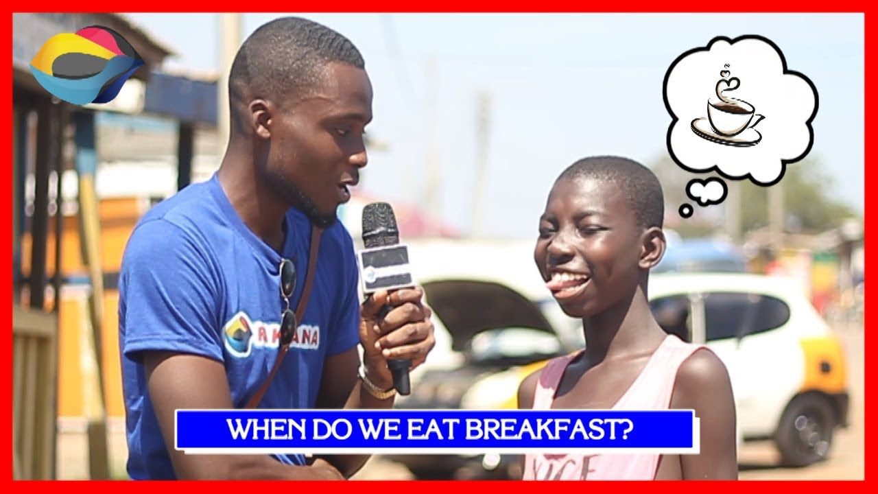 When Do We Eat BREAKFAST? | Street Quiz | Funny Videos | Funny African Videos | African Comedy