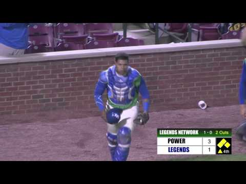 Royals Catcher Prospect Xavier Fernandez Lays Out Flat