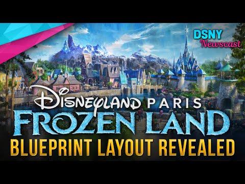 FROZEN LAND Layout Revealed for Disneyland Paris - Disney News - 2/13/20