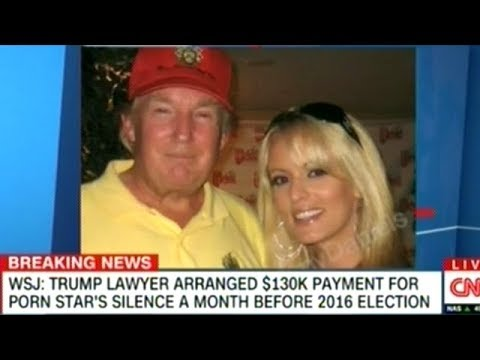 WSJ Reporting Trump Lawyer Paid Porn Star $130,000 Dollar To Keep Quite About Sexual Encounter