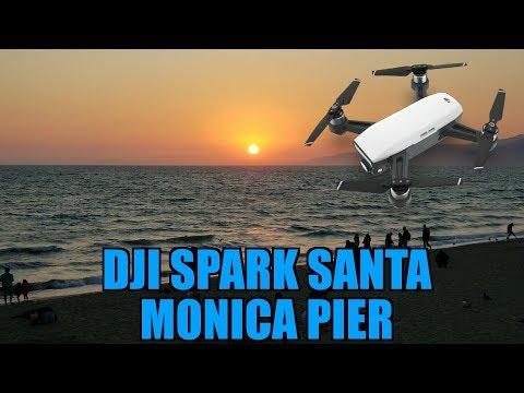 Dji Spark at Santa Monica Pier