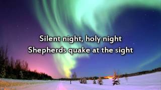 Silent Night - Instrumental with lyrics