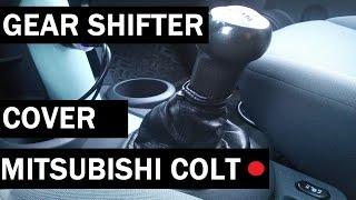 MITSUBISHI COLT gear shifter