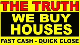 "Ever wondered about those ""We Buy Houses - Fast Cash!"" signs? thumbnail"