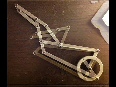 NoodleFeet : Prototyping Mechanical Motion With Algodoo