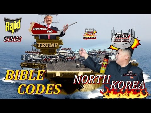 Trump, Mark Taylor, Kim Clement And Bible Codes and Prophecy About America, North Korea and Syria...