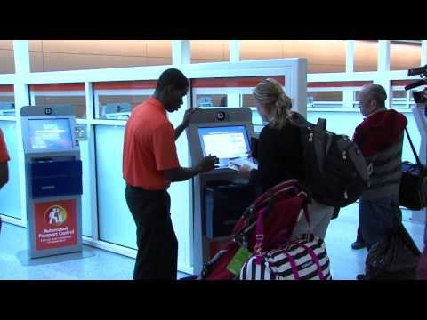 New Passport Control Kiosks at DFW Airport