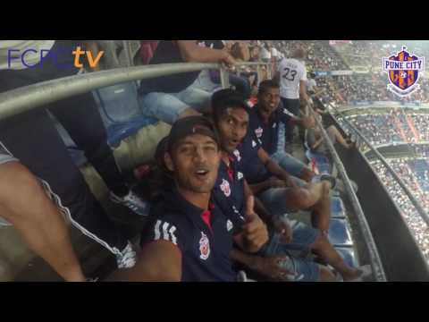 Team FC Pune City Visit to Estadio Santiago Bernabeu