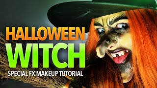 Halloween Witch SFX Makeup Tutorial