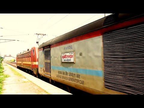 [IRI] 12398 Mahabodhi SF Taking Exit From Delhi With MGS WAP4