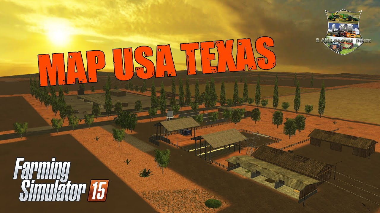 Présentation De La Map USA TEXAS YouTube - Texas map of usa