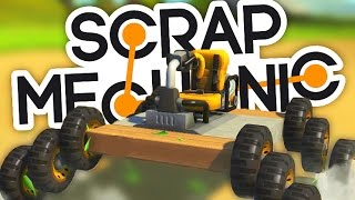 MÉCANICIEN NUL À CH***! | Scrap Mechanic FR #1